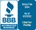 Trouble Free, Inc. is a BBB Accredited Plumber in Pekin, IL