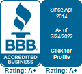 Total Dental Care, Ltd. is a BBB Accredited Dentist in Pekin, IL